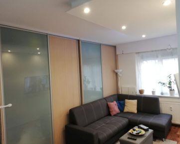 Veľký 1 izb.byt, prerobený na 3 izb., Šancová ul.,