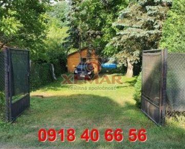 Na predaj záhradka s chatkou vo Zvolene na Podoborovej