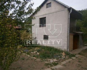 Na predaj murovaná chatka,so zahrádkou v zahradkárskej oblasti Šaca, 300m2. CENA: 23 000,00 EUR