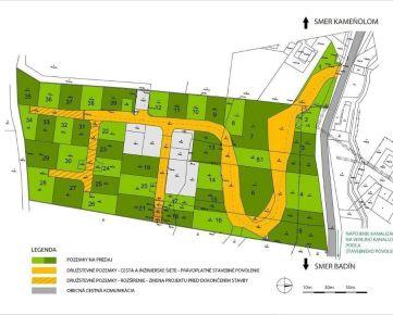 Predaj stavebných pozemkov Banská Bystrica