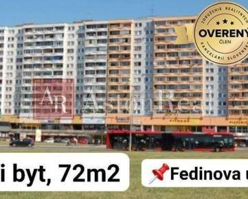 Pripravujeme do ponuky - 3i byt s loggiou 72 m2, Petržalka