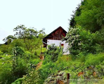 Chalupa na kopci, Banská Hodruša,región Banská Šiavnica