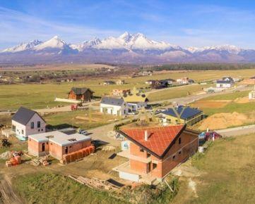 Krásny stavebný pozemok s výhľadom na Vysoké Tatry