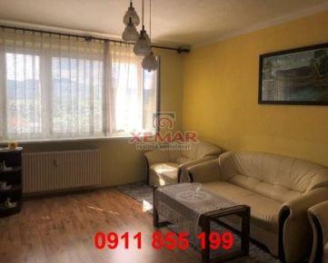 Na predaj priestranný 3 izbový byt v Žiari nad Hronom