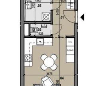 2i byt s výhľadom Zelené Vlčince (D.505)