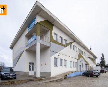 Na predaj administratívna budova Žilina 1905m2 - exkluzívne v Rh+
