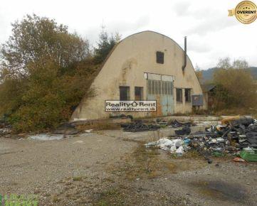 Predaj: areál s rozlohou 7415 m2 s halou v Podvysokej