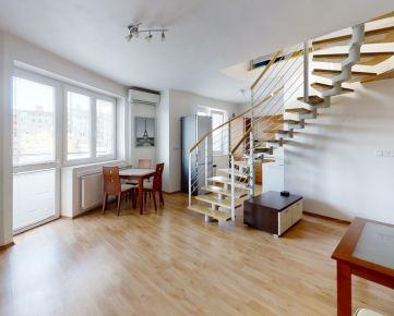 360°NA PREDAJ 3 izbový mezonetový byt v 15 ročnom bytovom dome s vlastným parkovaním a klimatizáciou