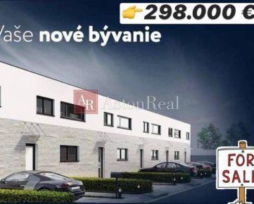 NOVOSTAVBA: 5-izbový dom +3 parkovacie miesta + 60 m2 terasa
