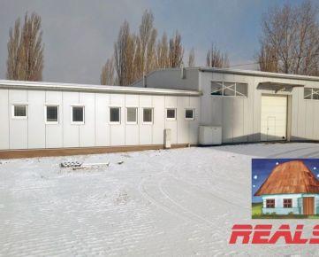 Výrobno - skladový objekt s administratívou v Nitre na prenájom