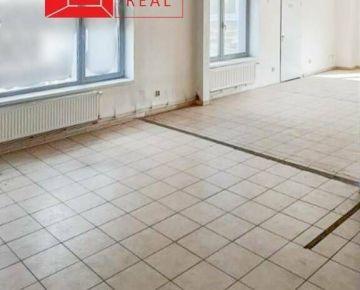 Prenájom obchodných priestorov 100 m2  v Nitre