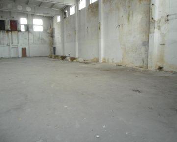 priestor 497 m2 na prenájom - využitie nákladnej rampy