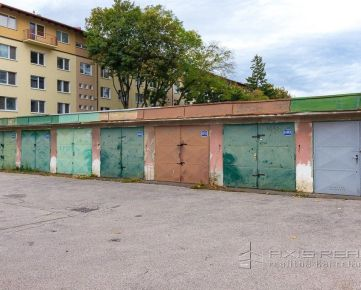 AXIS REAL:: Garáž 16,5m2, vynikajúca lokalita, BA II. Ružinov Exnárova