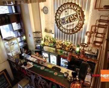 Odstúpime zabehnutú reštauráciu s klubom v centre mesta na Ventúrskej