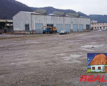 Prevádzkový areál 2,9 ha na predaj