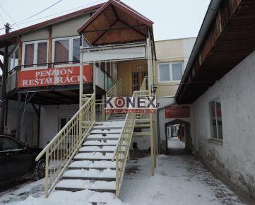 KONEX REALITY – SUPER PONUKA! Na predaj reštaurácia / penzión v Sečovciach