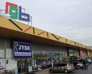 Prenájom obchodných priestorov v nákupnom centre RGB Radvaň