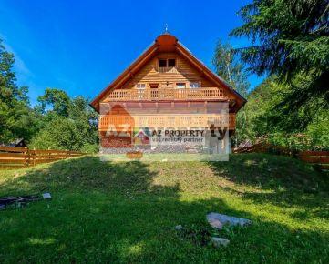 Ponúkame na predaj nadštandardnú 6 izbovú chatu v Terchovej