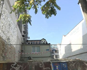 Pozemok pripravený na výstavbu bytového domu v centre Bratislavy