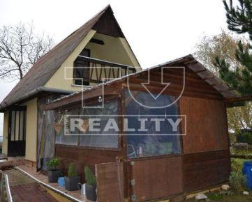 Na predaj útulná chatka s pozemkom 1800m2, Nitra-Dolné Krškany. CENA: 53 000,00 EUR