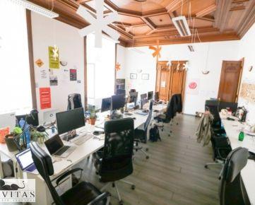 Na prenájom kancelárske priestory v centre o výmere 321 m2