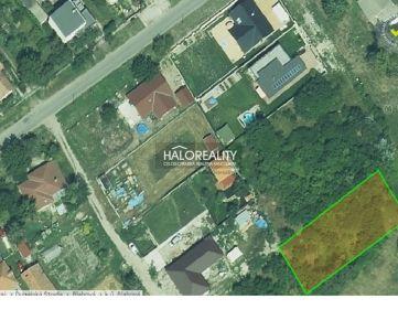 HALO REALITY - Predaj, pozemok pre rodinný dom 890 m2 Blahová