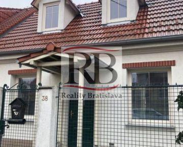 Na prenájom rodinný dom v Ružinove, Trnávka