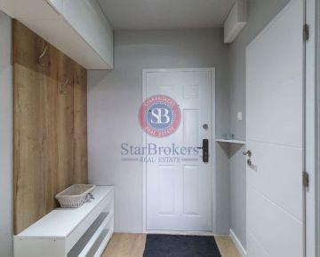 STARBROKERS - 2 izb. kompletne, moderne, rekonštruovaný byt so zariadením, Jasovská ul., v blízkosti jazera Draždiak