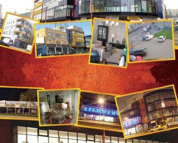 IMPEREAL - prenájom, obchodný priestor 141 m2, Račianska ul.,  Bratislava III.