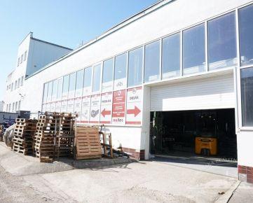 Prenájom - hala 310m2 s administratívou, skladmi a soc. zázemím, Nitra - Krškany