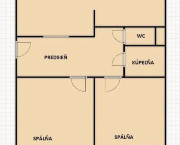 3 izb. byt, TRNAVSKÁ CESTA,  po novej rekonštrukcii podľa Vašich predstáv