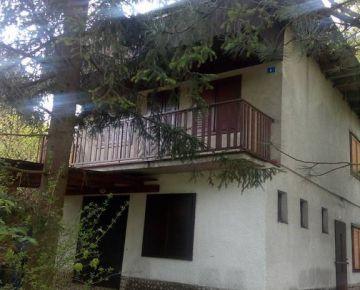 VIVAREAL* VÝBORNÁ PONUKA!!! Murovaná chata v príjemnom prostredí priehrady, tichá chatová oblasť, Buková