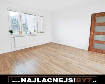 Najlacnejsibyt.sk: BAV - Petržalka, Lietavská ul., 3 izbový, 68,9 m2, kompletná rekonštrukcia