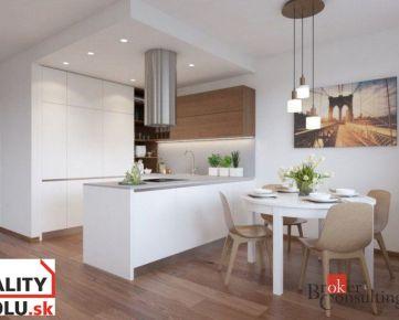 Nádherný 4 izbový byt Zvolen na predaj, novostavba