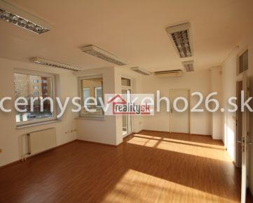 Kancelárske nebytové priestory na Černyševského ul. 26