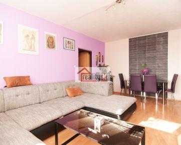 Predaj 3-izb.byt 75 m2 s prístupom na 60m2 terasu,Pribišova ul.