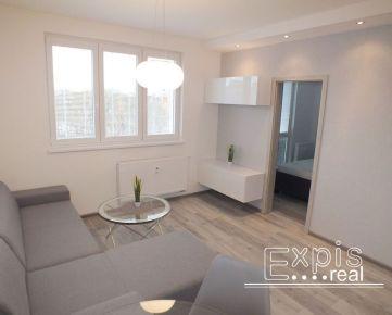 PRENÁJOM 2 izbový byt, kompletná rekonštrukcia, Bratislava Ružinov, Muškátová ulica EXPISREAL