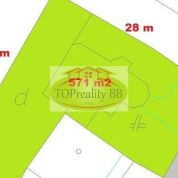 Pozemok pre rodinné domy 571m2