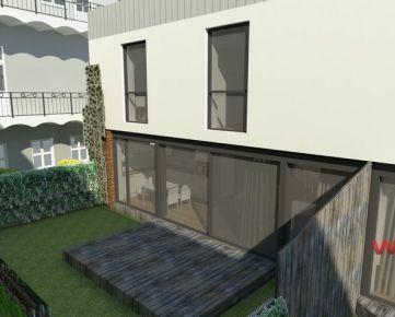 Novostavba - moderný 3-izbový rodinný dom v historickom centre mesta na Poštovej ulici v Košiciach