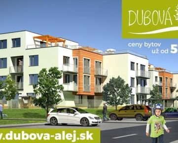 DUBOVÁ ALEJ - 2izbový byt (SO.01, byt A.3-II) s balkónom a pivn.kobkou, Ivanka pri Dunaji