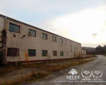 DELTA - Výrobná hala s administratívnou časťou na predaj Markušovce