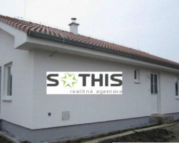 Ponúkame na predaj NOVOSTAVBU 3 izbového rodinného domu v zastavanej časti obce Bernolákovo.