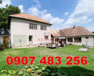 Na predaj rodinný dom Čebovce - TOP INVESTÍCIA