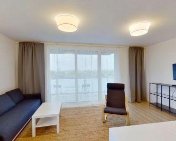 Na prenájom kompletne zariadený 3-i. byt s balkónom a šatníkom, Lomená, Košice (5C)