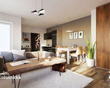 NA PREDAJ | 1 izbový byt 38m2 + balkón, 1np. Rezidencia Kožušnícka, byt B1