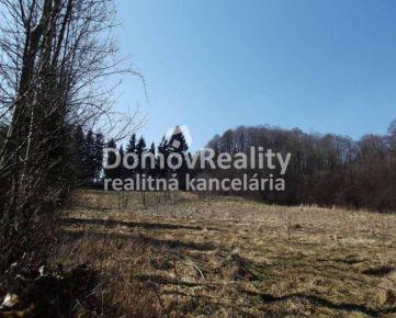 Exkluzívny stavebný pozemok  Turany – Černík, Martin, výmera 3593 m2, Exkluzívne len u nás!