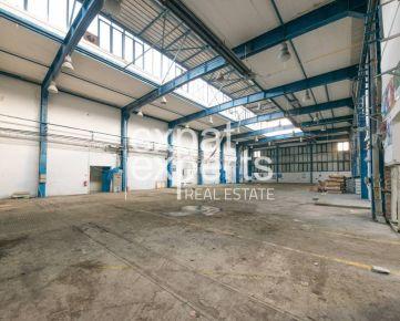 Skladový priestor 2500 m2, 2. 80€/m2 s kanceláriami