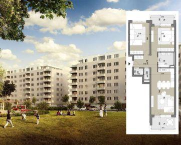 3 izbový byt (A204) – ZELENÉ VLČINCE – NOVOSTAVBA