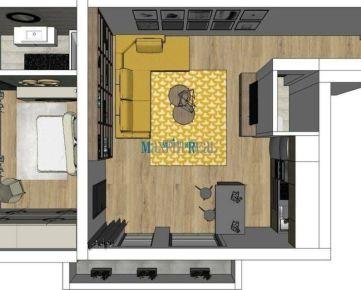 2 izb.byt v HARMÓNII s garážovým parkovaním a balkónom