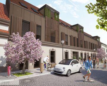 REZIDENCIA PORTA, 3 - izbové byty v CENTRE Trnavy, Halenárska ulica - púpava development - exkluzívne iba u nás